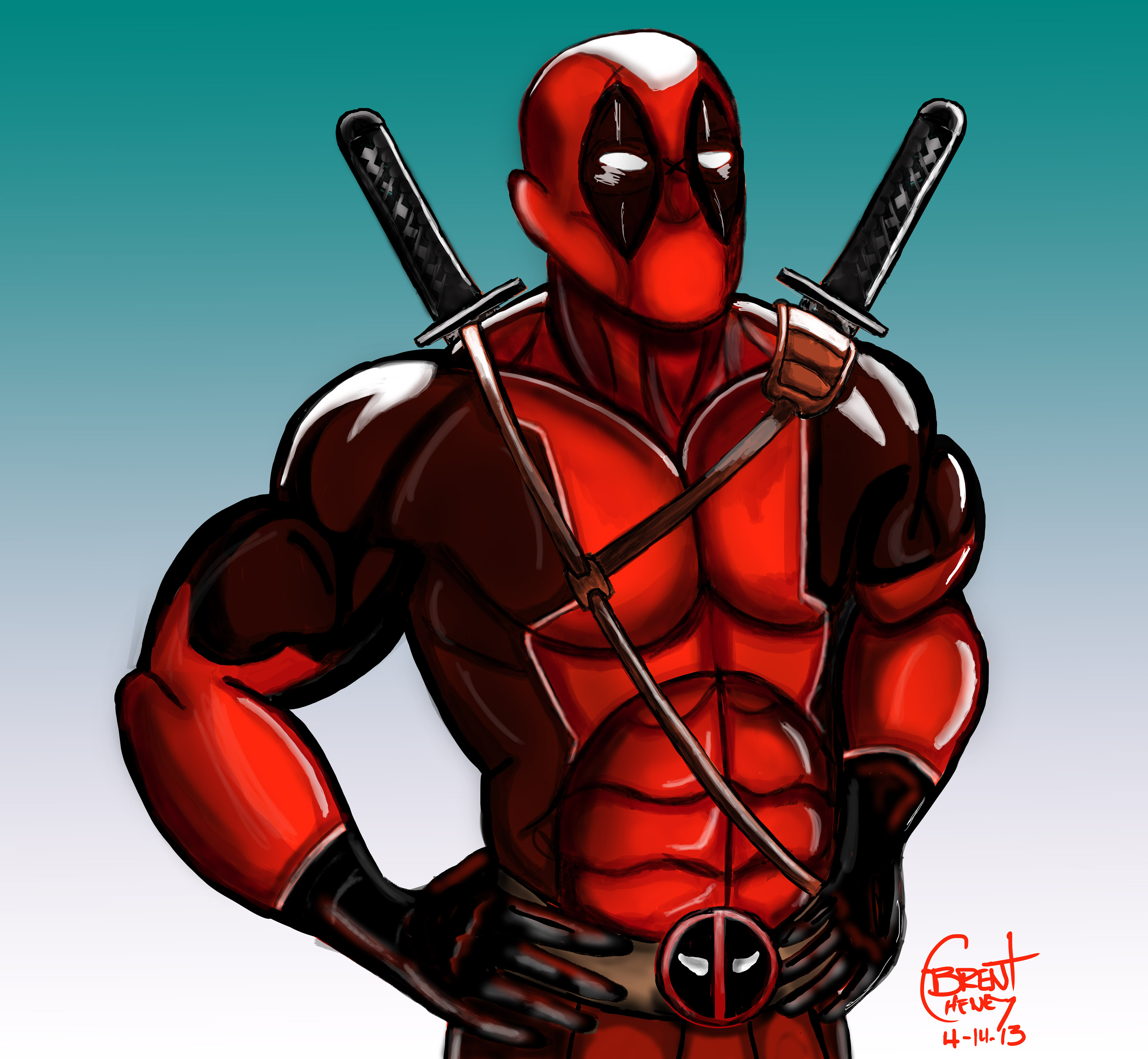 The gallery for --> Deadpool Drawing